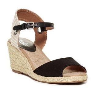 Lucky Brand Kyndra Espadrille Wedge Sandal Sz 8.5